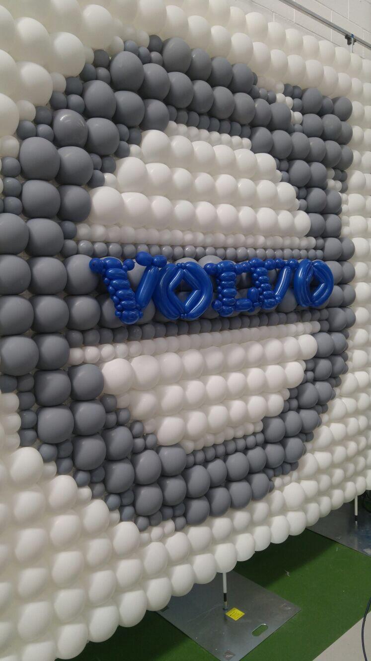 Volvo Balloon Wall