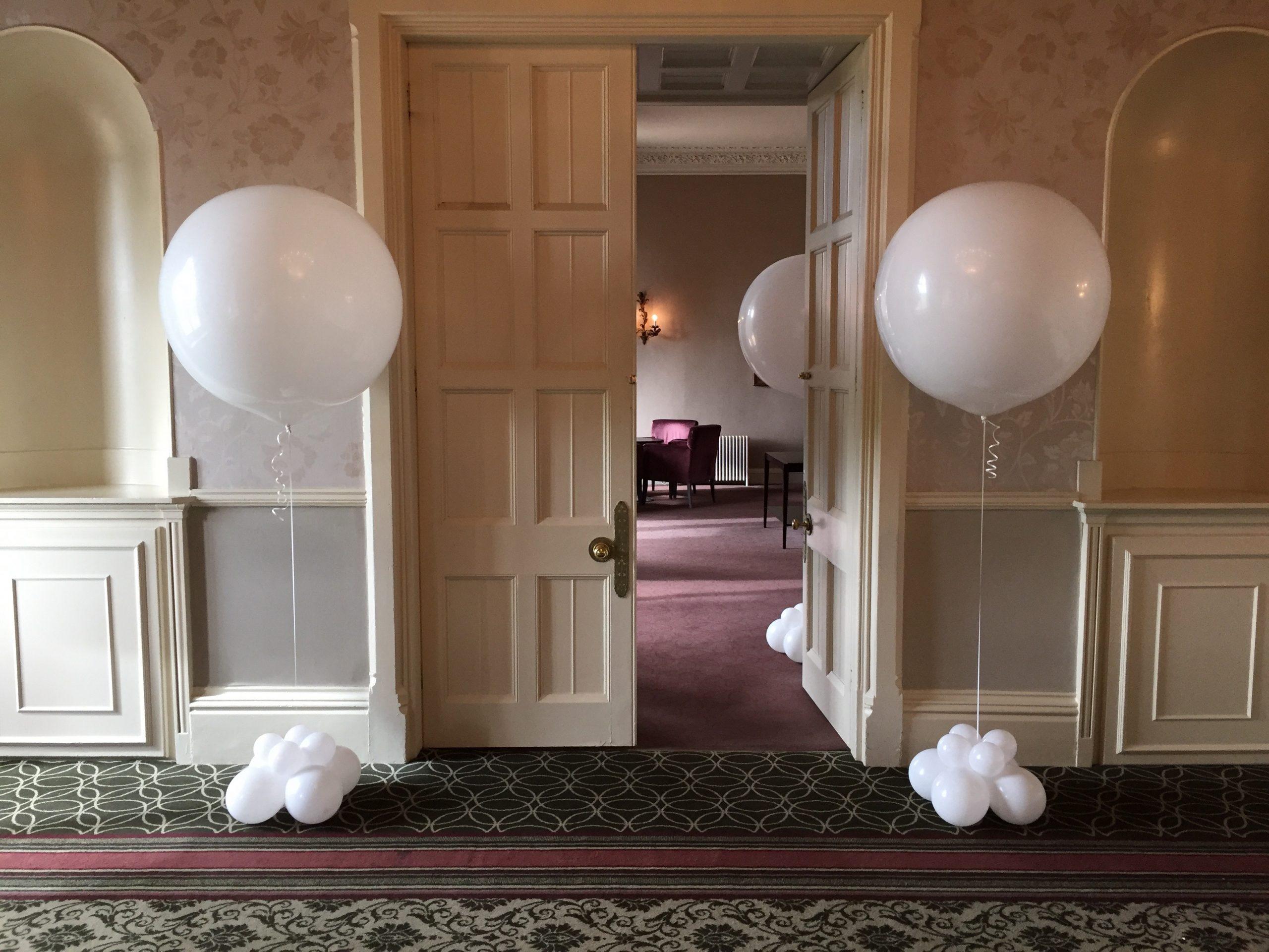 3ft Balloons at entrance