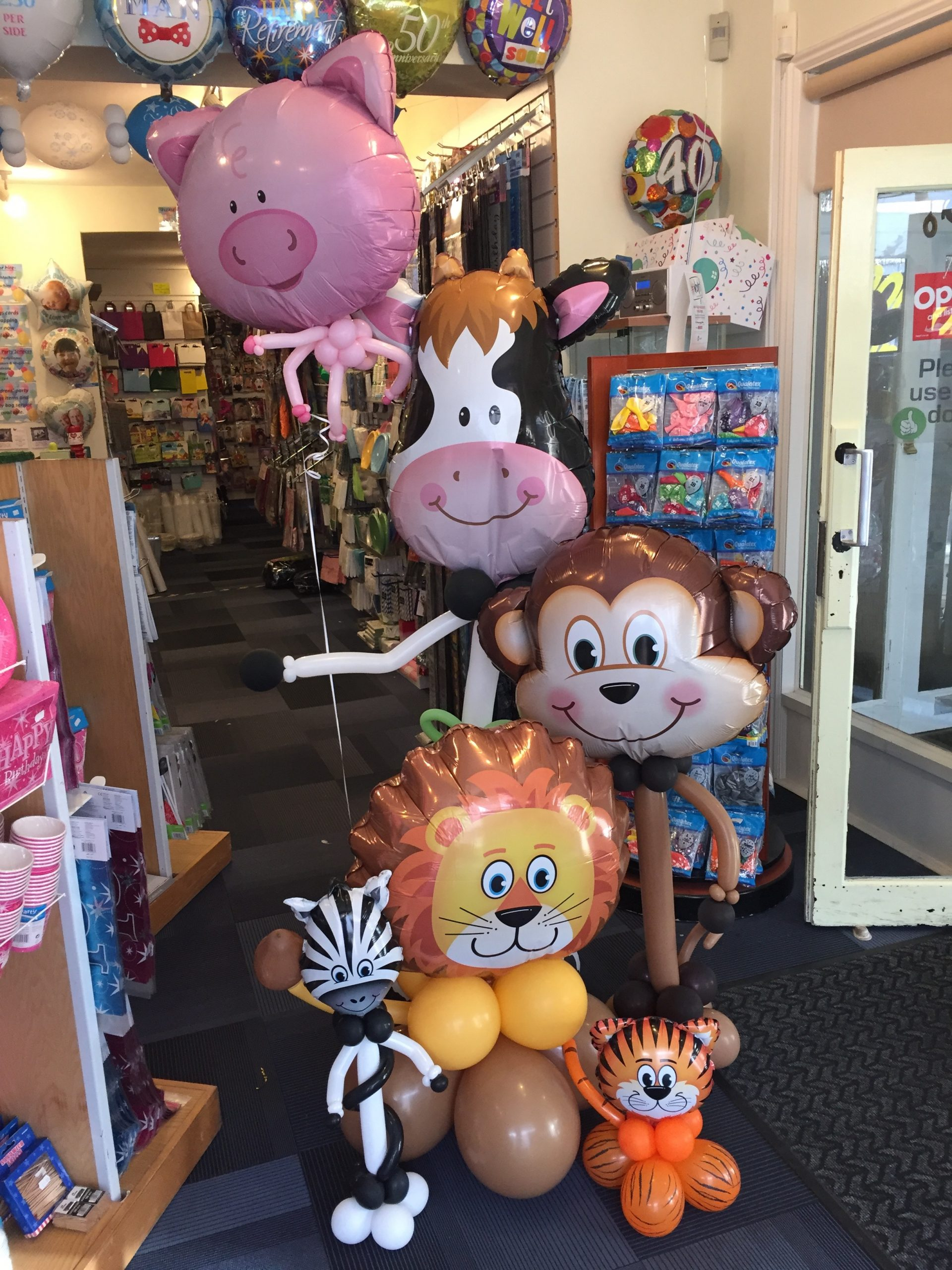 Selection of balloon animals