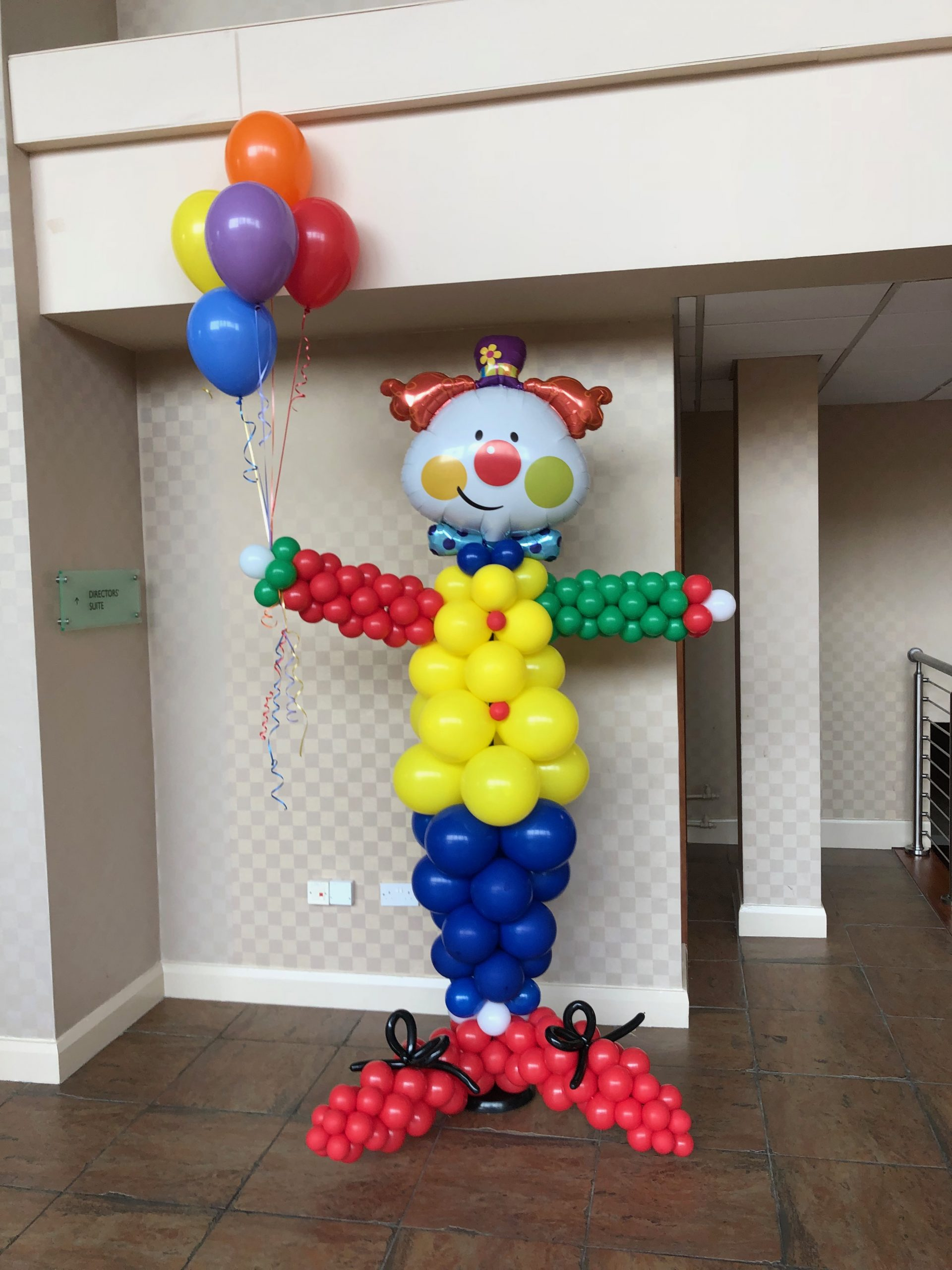 8ft Balloon clown