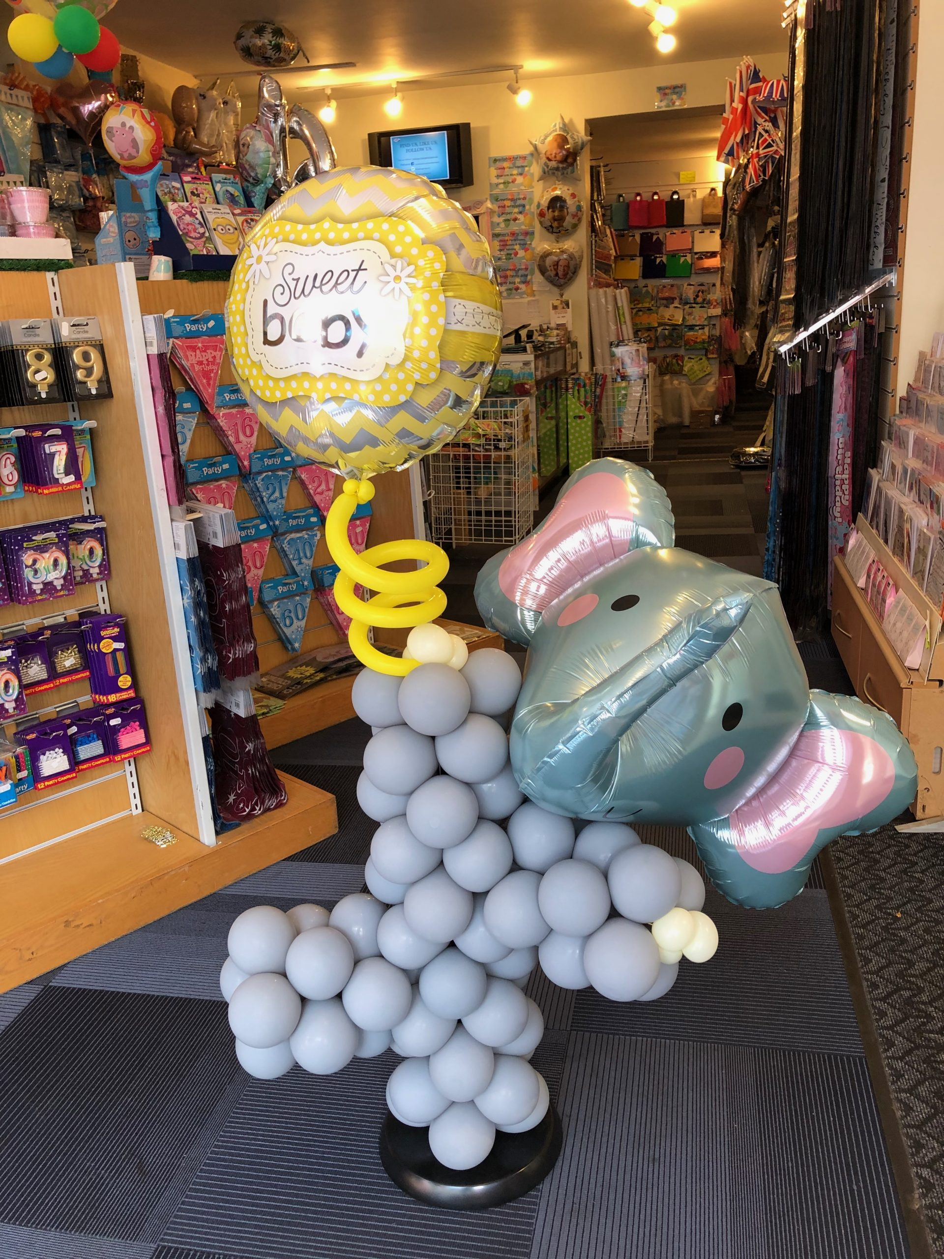 Balloon elephant with 3D head