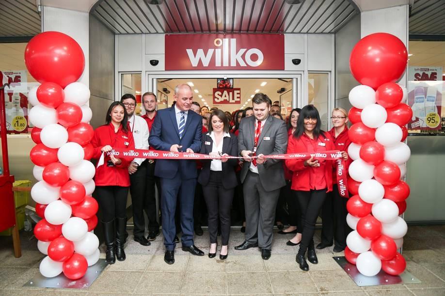 Wilko Opening 6ft balloon columns