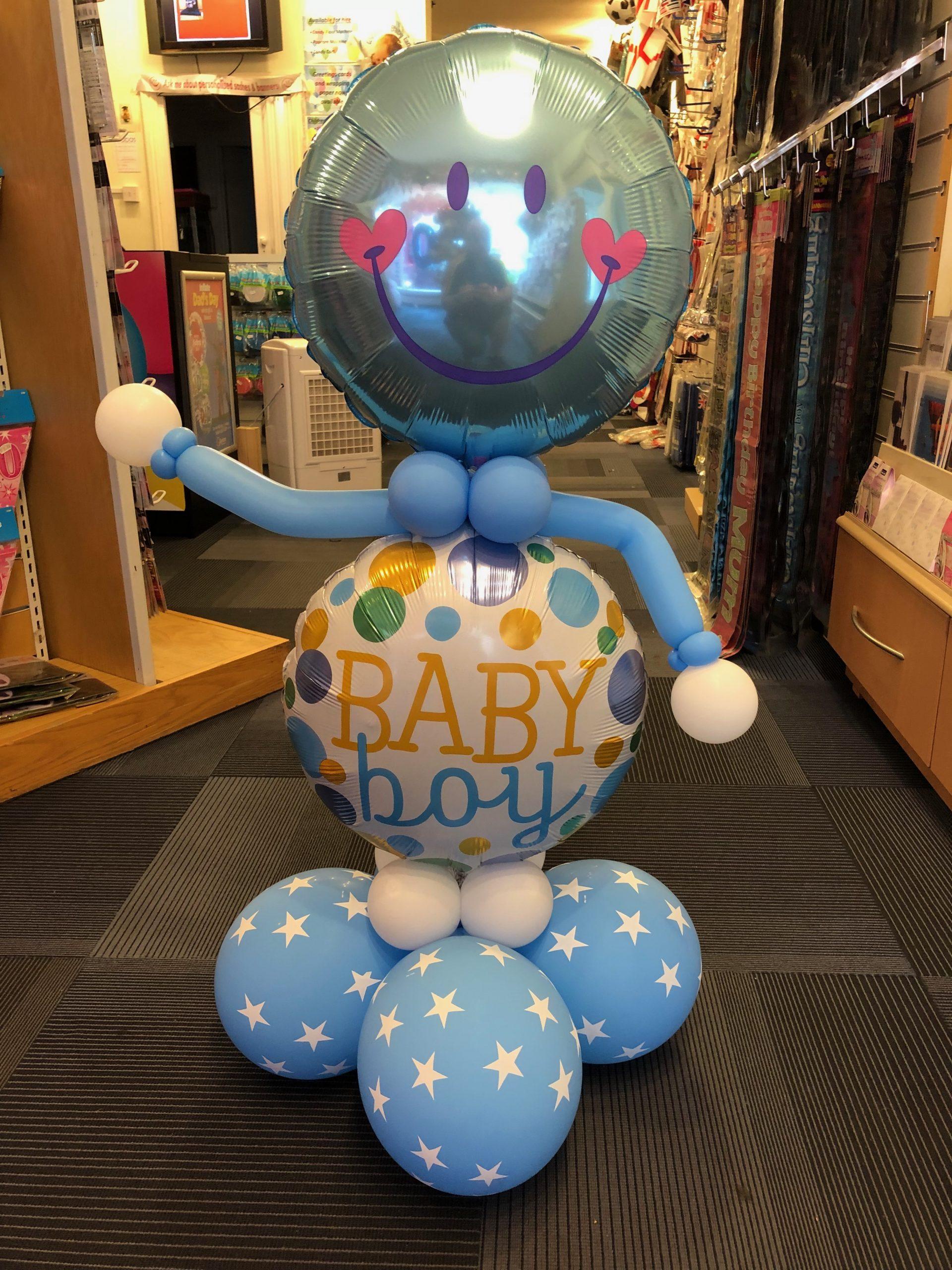 Foil belly balloon baby boy