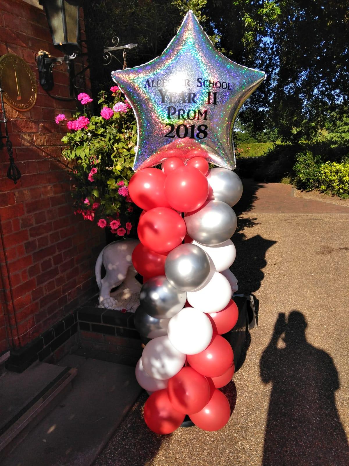 Spiral balloon column